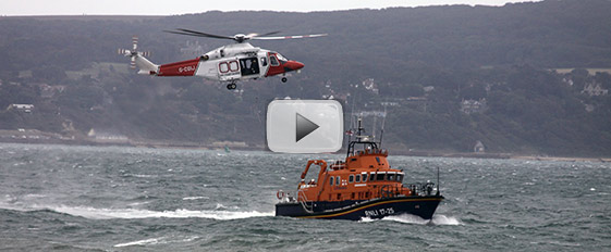 Watch footage from the dramatic rescue mission