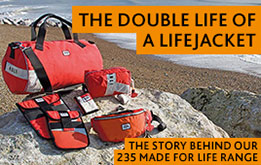 235 Made for Life is our innovative new range made from recycled lifejackets