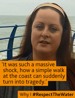 Read why Jo Wardle from Sunderland Respects the Water