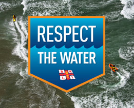 Respect the Water – experience a rip current