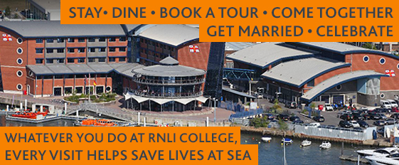 Every visit to RNLI College helps save lives at sea