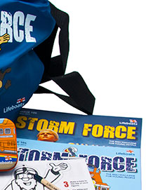 Sign your little ones up to Storm Force - our club especially for young people